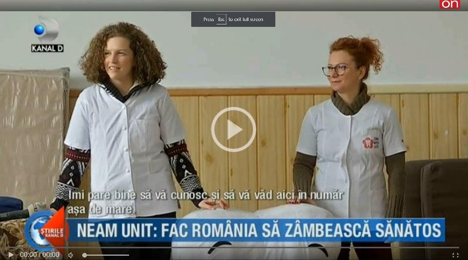 Kanal D: Un coregraf face România să zâmbească sănătos! Cum?