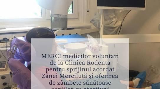 Tratamentul stomatologic continuă pentru copiii de la Institutul Oncologic București
