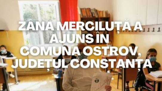 682 de pachete de profilaxie pentru sănătate orală au fost distribuite copiilor care învață la grădinițele și școlile din comuna Ostrov din județul Constanța pentru prevenirea cariei dentare
