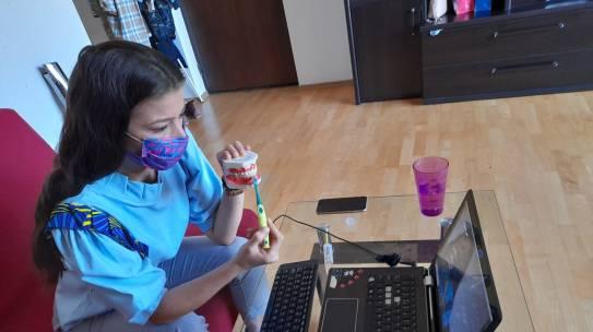 Continuăm webinariile de educație pentru sănătate orală