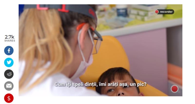Recorder.ro O problemă reală a României: dinții copiilor de la sate