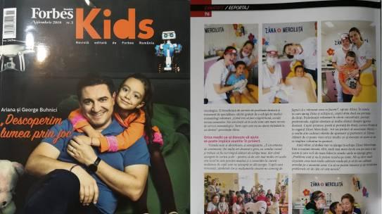 Forbes Kids: Zâmbete de copii în regatul Zânei Merciluță