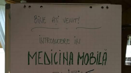 Prima ediție a trainingului pentru introducere în medicina mobilă