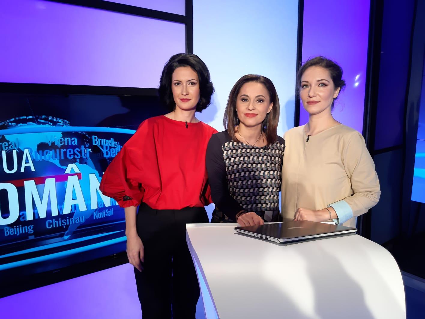"""TVR Internațional, emisiunea """"A doua Românie"""""""