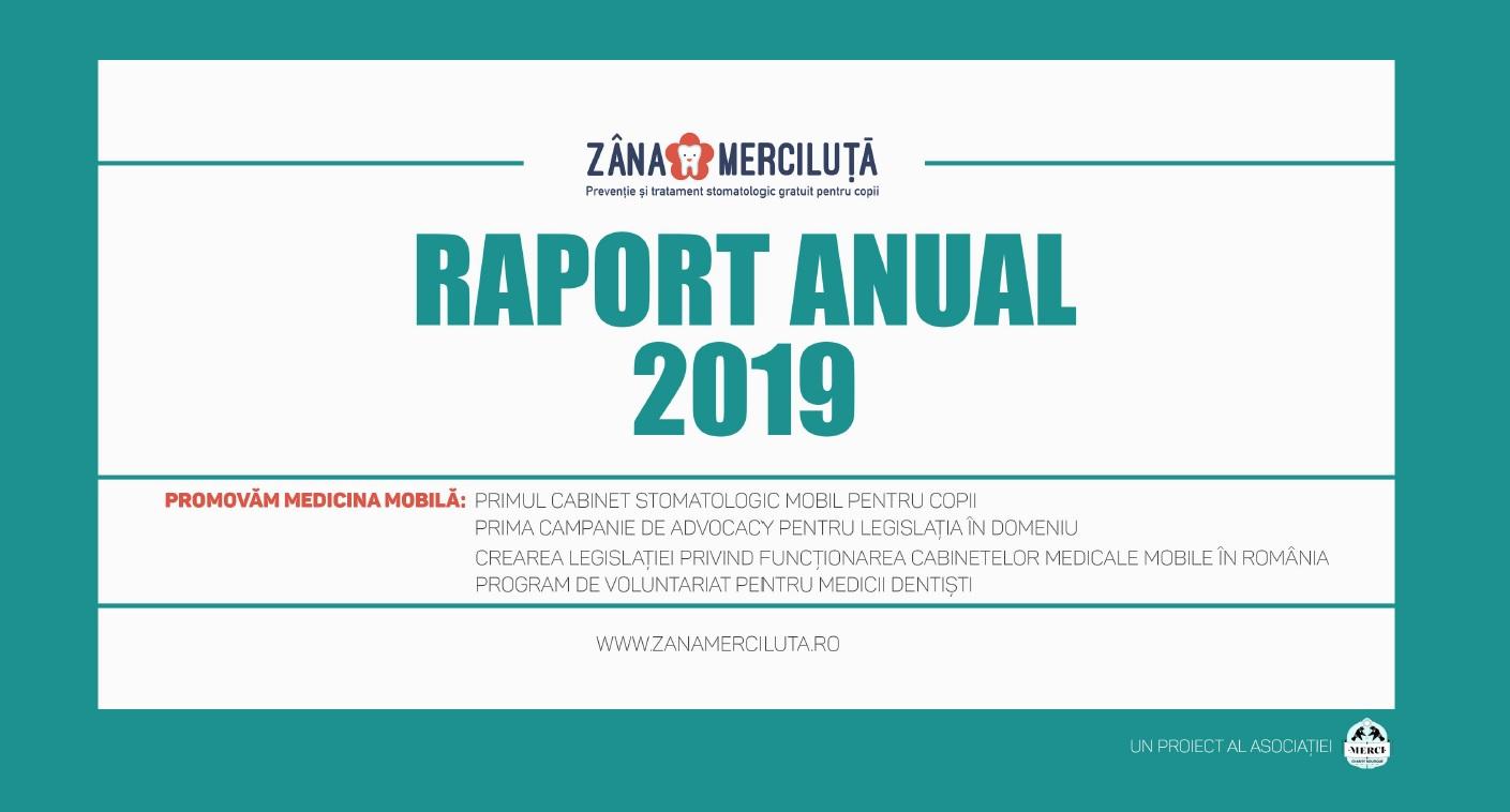 """Am publicat raportul anual al acțiunilor cabinetului stomatologic mobil """"Zâna Merciluță"""""""