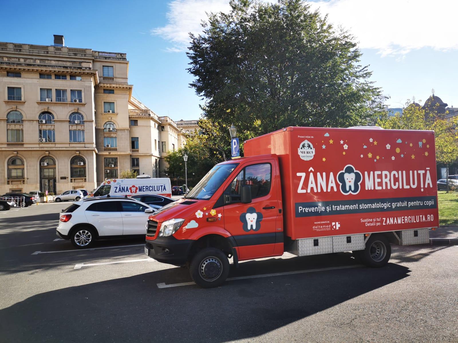 Parteneriat între asociația Merci Charity și Compania Municipală de Parking București